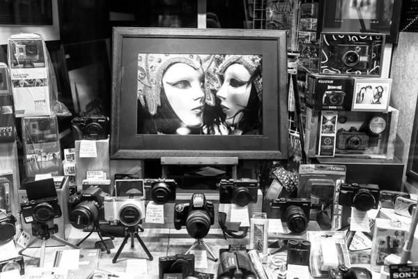 Wall Art - Photograph - Venice Carnival Photo Shop by John Rizzuto