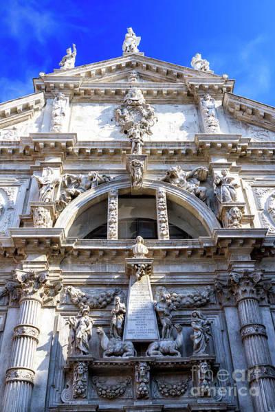 Photograph - Venice Chiesa Di San Moise by John Rizzuto