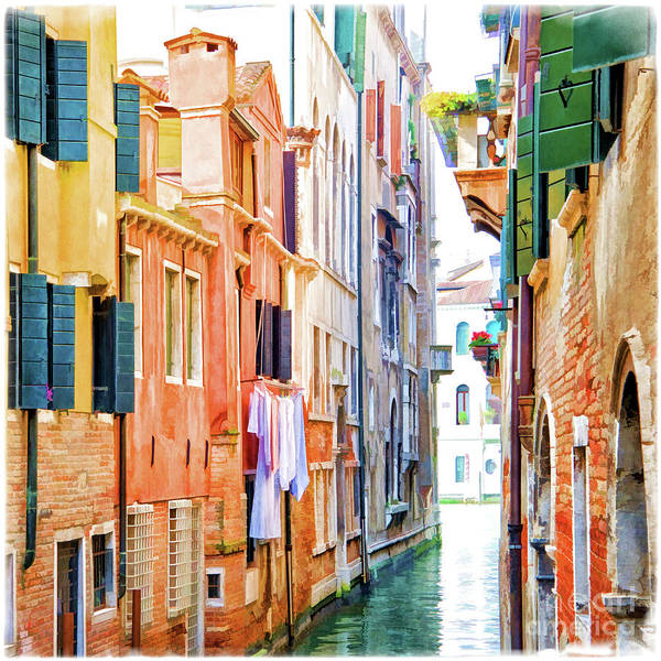 Wall Art - Painting - Venice by Delphimages Photo Creations