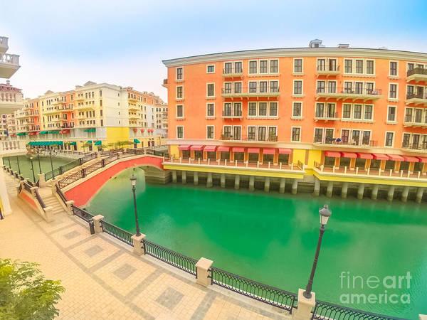 Photograph - Venice Doha Qatar by Benny Marty