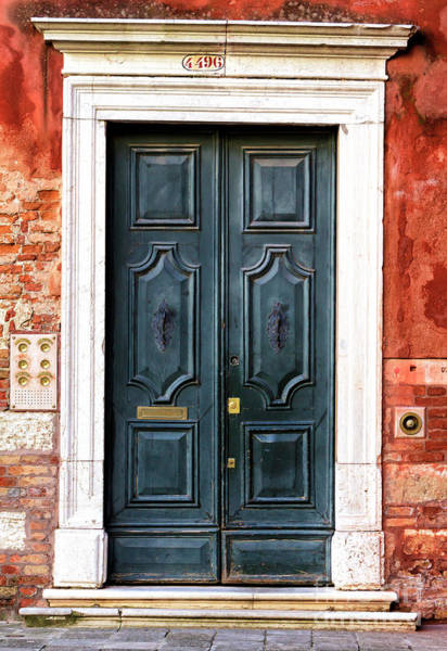 Photograph - Venice Fancy Door by John Rizzuto