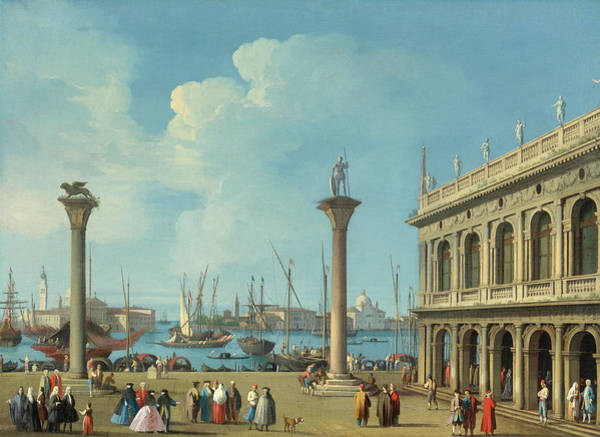 Wall Art - Painting - Venice by Giovanni Battista Cimaroli