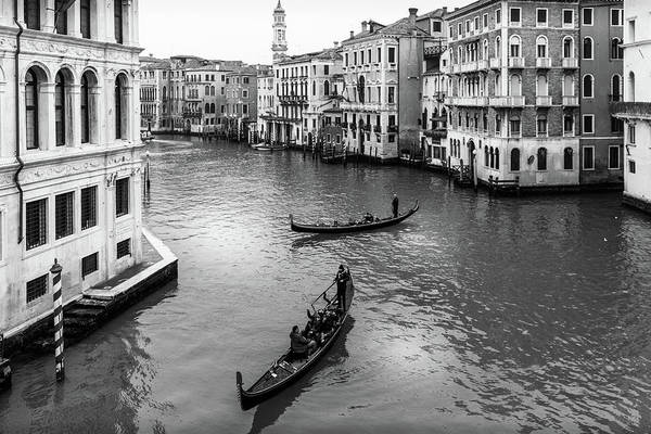 Photograph - Venice Grand Canal by Georgia Fowler
