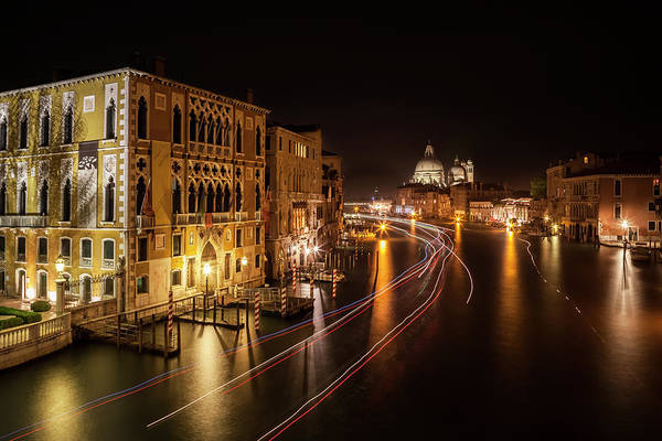 Wall Art - Photograph - Venice Grand Canal Nights by Melanie Viola