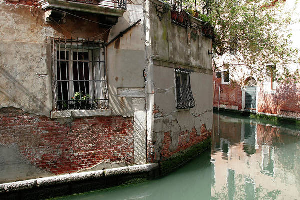 Old Photograph - Venice Is Sinking by Charles Briscoe-knight