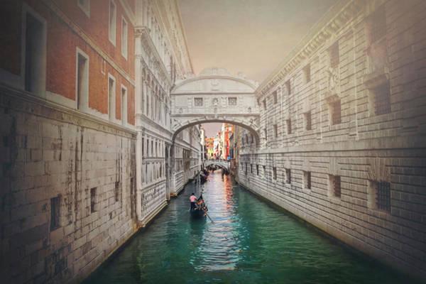 Wall Art - Photograph - Venice Italy Bridge Of Sighs  by Carol Japp