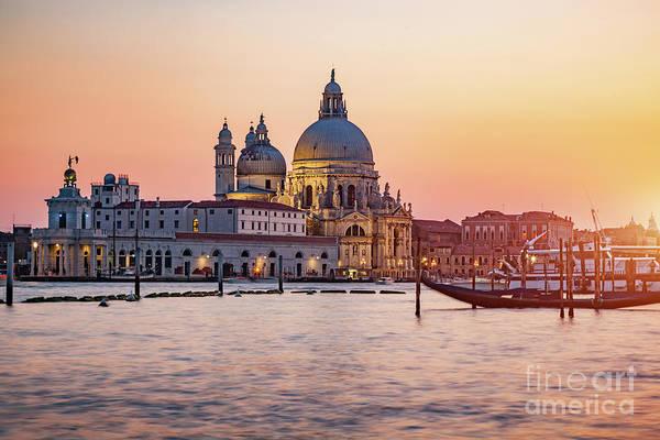 Wall Art - Photograph - Venice, Italy, Santa Maria Della Salute Church. by Michal Bednarek