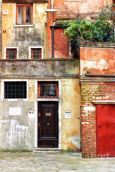 Photograph - Venice Jewish Ghetto Colors by John Rizzuto