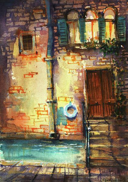 Wall Art - Painting - Venice by Kristina Vardazaryan
