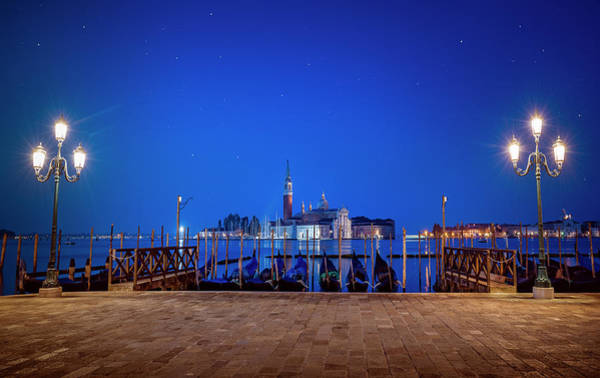 Wall Art - Photograph - Venice Lights by Svetlana Sewell