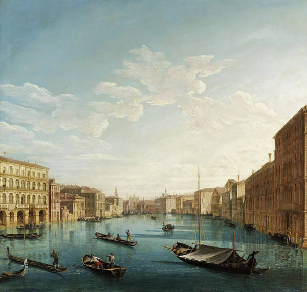 Wall Art - Painting - Venice by Pietro Bellotti