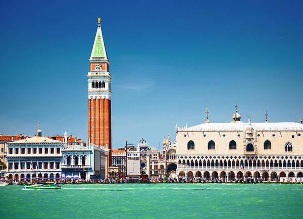 St Mark's Basilica Photograph - Venice by Spooh