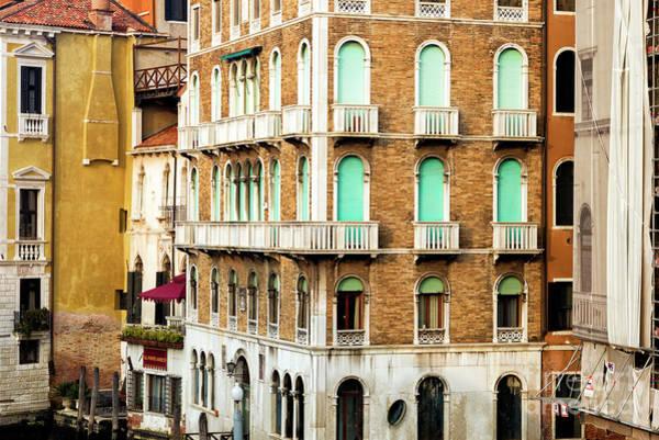Photograph - Venice Window Patterns 2015 by John Rizzuto