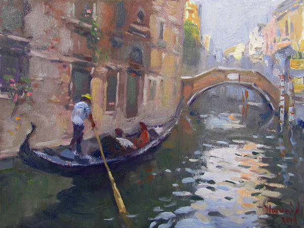 Wall Art - Painting - Venice by Ylli Haruni