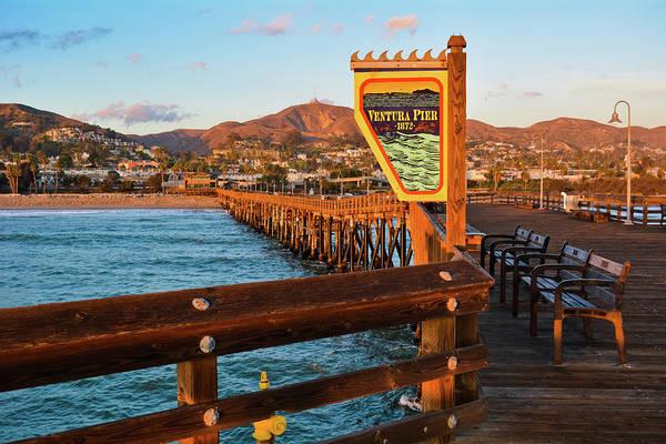 Photograph - Ventura Pier 1872 by Kyle Hanson