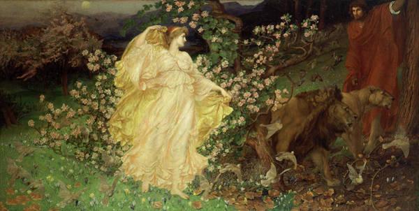 Wall Art - Painting - Venus And Anchises, 1890 by William Blake Richmond