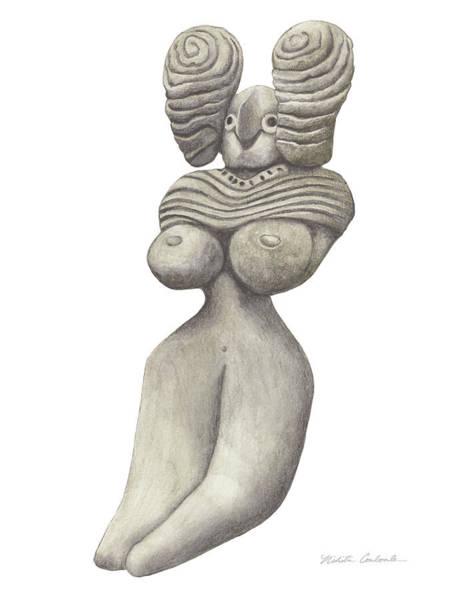 Venus Of Merhgargh Art Print