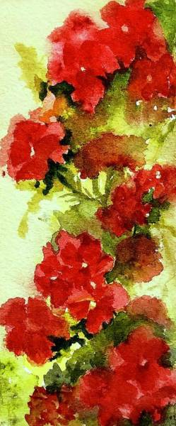 Wall Art - Painting - Verbena Too by Nicole Curreri