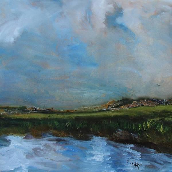 Painting - Verdant Marsh by Michael Helfen