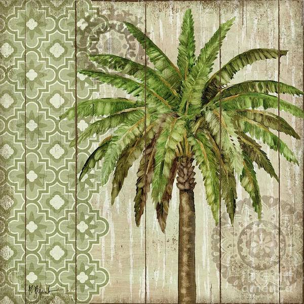 Wall Art - Painting - Verde Palm I by Paul Brent