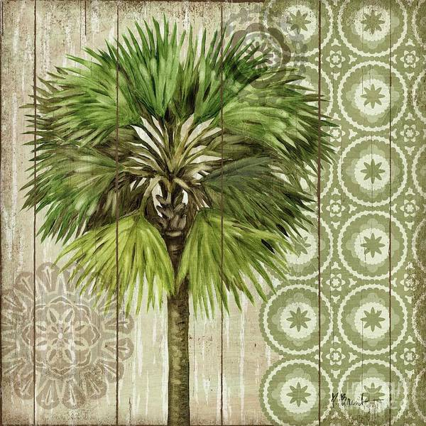 Wall Art - Painting - Verde Palm II by Paul Brent