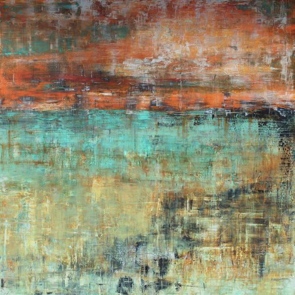 Painting - Vermillion Skies by Nicole Korbe