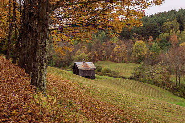 Photograph - Vermont Countryside Autumn 2018 by Terry DeLuco