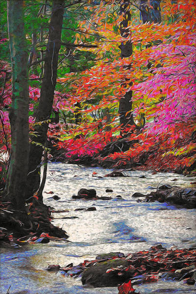 Painting - Vermont, Landscape - 04 by Andrea Mazzocchetti