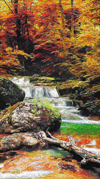 Painting - Vermont, Landscape - 05 by Andrea Mazzocchetti