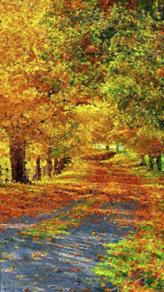 Painting - Vermont, Landscape - 07 by Andrea Mazzocchetti