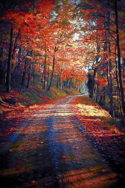 Painting - Vermont, Landscape - 10 by Andrea Mazzocchetti