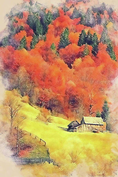 Painting - Vermont, Landscape - 13 by Andrea Mazzocchetti