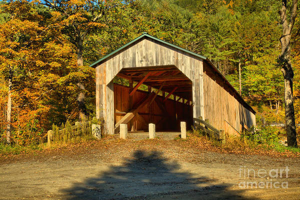 Photograph - Vermont Scott Covered Bridge by Adam Jewell