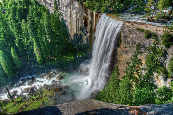Scenic Photograph - Vernal Falls by Aaron Meyers