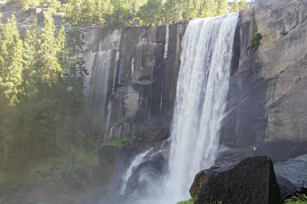 Vernal Fall Photograph - Vernal Falls At Yosemite National Park by Patrick Shyu