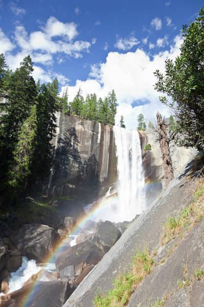 Vernal Fall Photograph - Vernal Falls In Yosemite With Rainbow by Fernandoah
