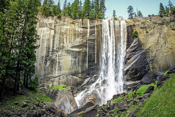 Photograph - Vernal Falls, Mist Trail, Yosemite by Dawn Richards