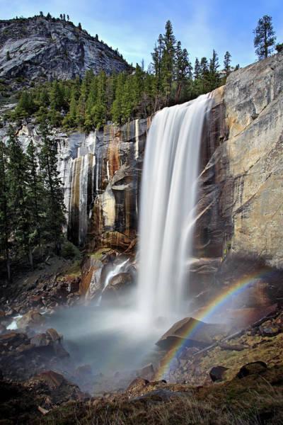 Vernal Fall Photograph - Vernal Falls by Rob Kroenert