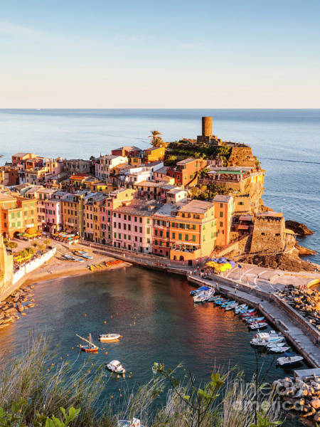 Wall Art - Photograph - Vernazza Fishing Village In The Cinque Terre by Matteo Colombo