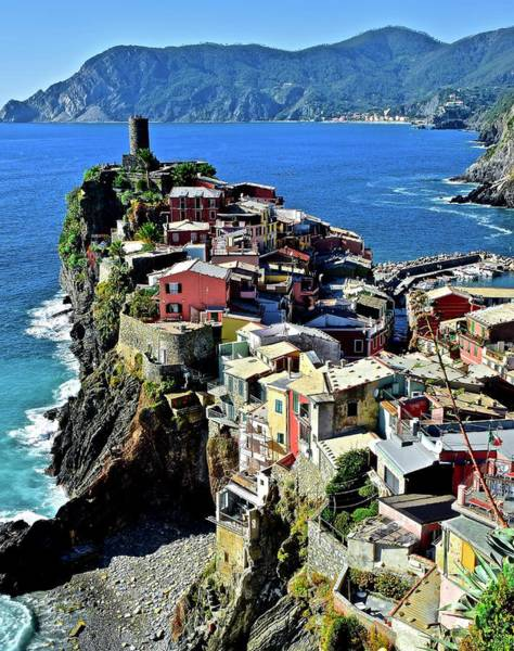 Wall Art - Photograph - Vernazza From Behind 2019 by Frozen in Time Fine Art Photography