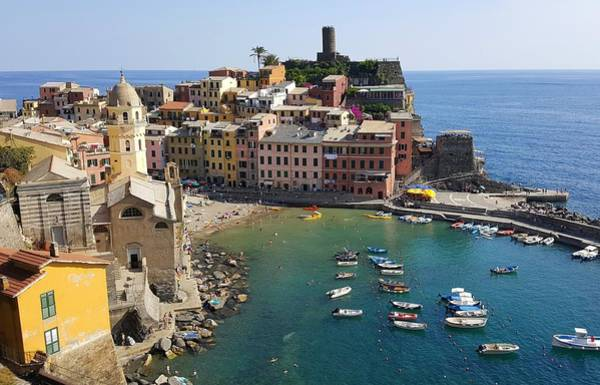 Photograph - Vernazza by Peter Mathios
