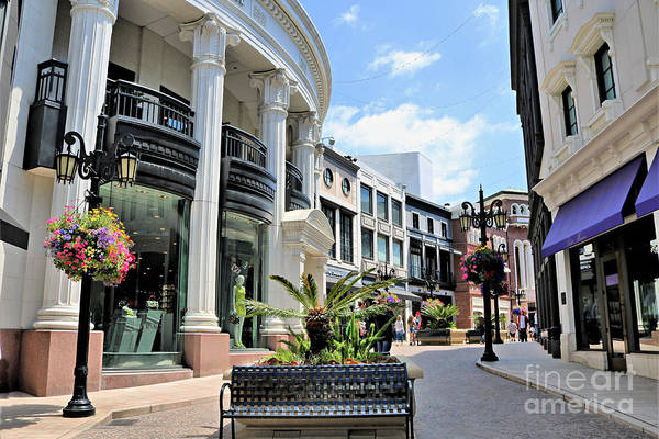 Wall Art - Photograph - Versace Rodeo Dr. Via Rodeo by Diann Fisher