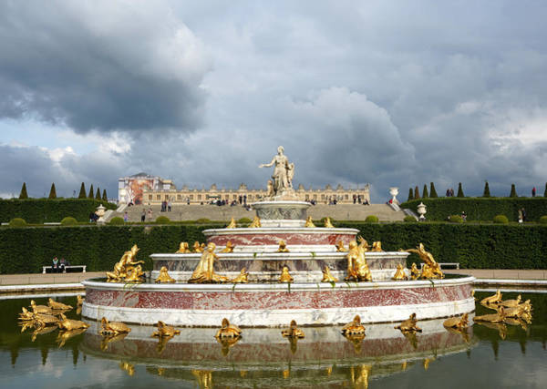 Photograph - Versailles 14 by Andrew Fare