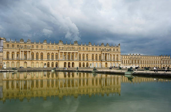 Photograph - Versailles 15 by Andrew Fare