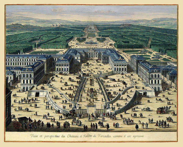 Photograph - Versailles 1683 by Andrew Fare