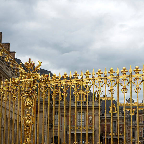 Photograph - Versailles 2 by Andrew Fare