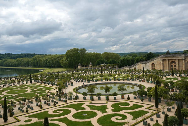 Photograph - Versailles 3 by Andrew Fare