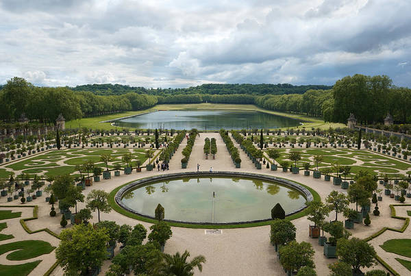 Photograph - Versailles 4 by Andrew Fare