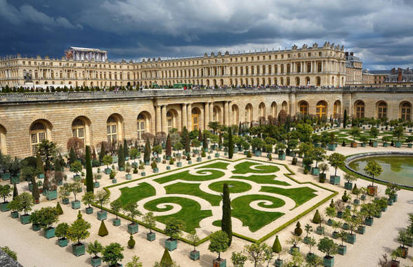 Photograph - Versailles 5 by Andrew Fare