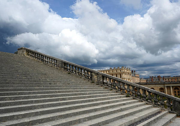 Photograph - Versailles 6 by Andrew Fare